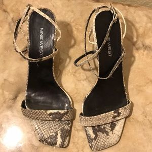 Sandals by Nine West.  Size 8 1/2.